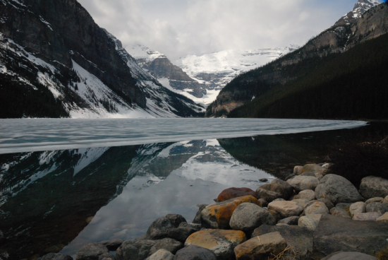 Lake Louise is a reward for good trip planning / Lake Louise, (c)2007 Ted Grellner